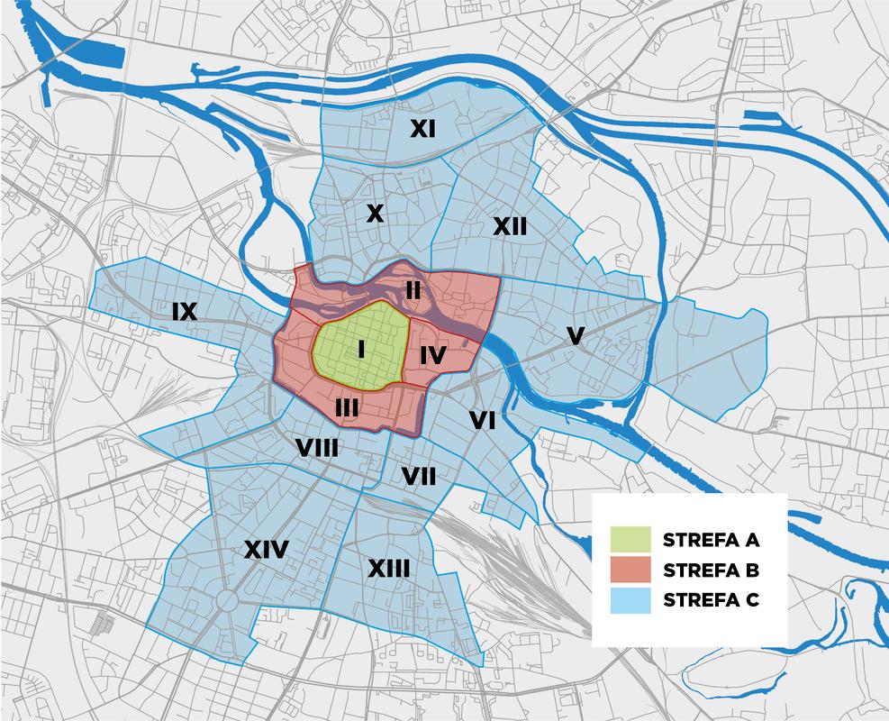 Strefy parkowania Wrocław